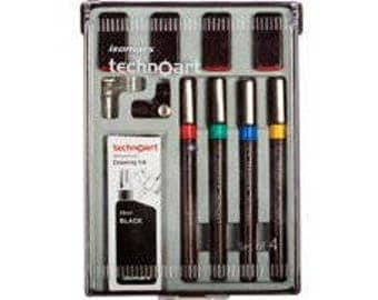 Drafting Pen Set of 8