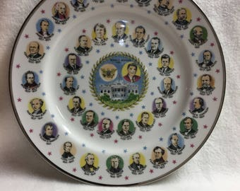 Presidents of the United States Collector Plate - Ronald Reagan (#018)