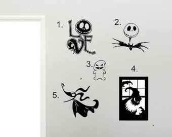Great The Nightmare Before Christmas Decals Good Looking