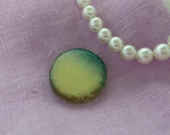 Glitter Resin Button