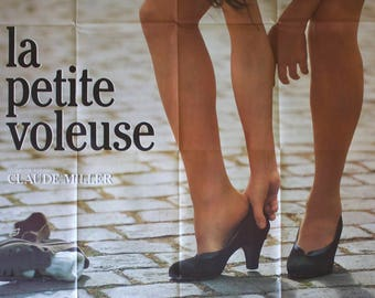 "Movie poster ""La petite voleuse""-Original"