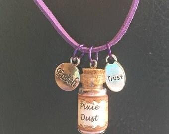 Faith, Trust, & Pixie Dust Necklace
