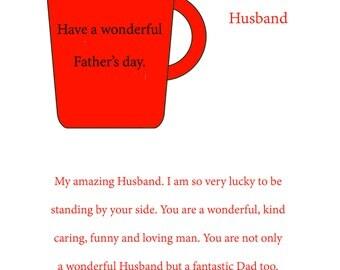 Husband Fathers Day