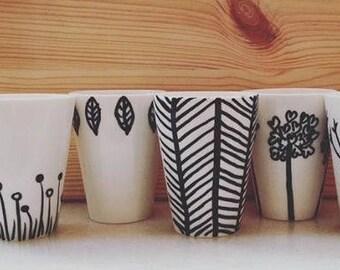 6 Cups coffee Set