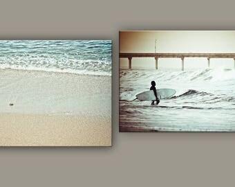 Beach Print    Beach Decor    Surfer Wall Art    Wall Decor