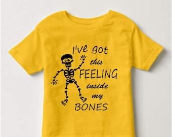 I've Got This Feeling Inside My Bones SVG Halloween SVG Skeleton Svg svg file for Cricut Silhouette Cameo svg Cutting File svg Cut Files