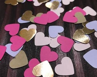 Multi-Color Confetti | Heart Confetti | Party Confetti | Bridal Confetti