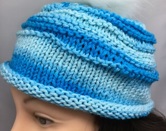 Knit Pattern, Ridge Hat
