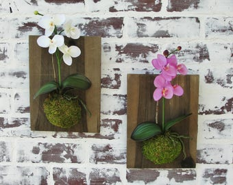 Orchid wall decor | Etsy