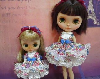 Blythe Dress, Blythe Clothes, Blythe Outfits,Blythe Party dress