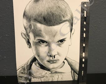 Stranger Things Eleven Portrait