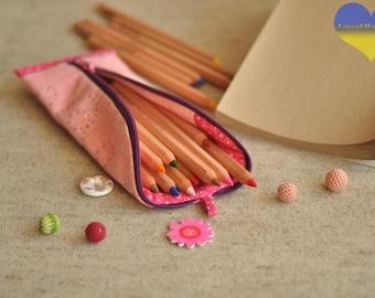 Modern Pencil Case, Pen Pouch, Cool Pencil Case, Kids Pencil Pouch, Colorful Pencil Case, Simple Pencil Case Funny Pouch Pencil Case for Her