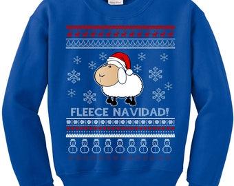 Ugly Christmas Sweater, Funny Christmas Sweatshirt, Fleece Navidad, Ugly Sweater, Ugly Sweater Contest, Ugly Christmas