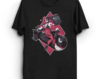 Bombs Away, Mistah J - Harley Quinn T-Shirt | Batman T-Shirt | Comic T-Shirt