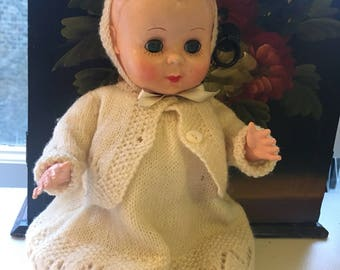 Rosebud Vintage Doll - Made in England circa 1950s