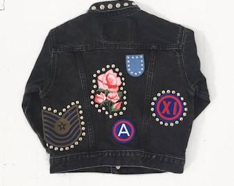 Kids Vintage Reworked Levis Jacket