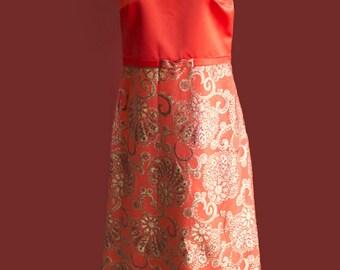 1970's vintage evening dress