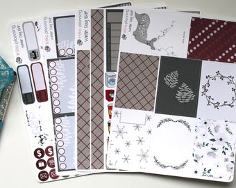 Winter Day - Big Happy Planner Weekly Kit