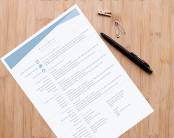 Resume Template / Curriculum Vitae (A4 and US)
