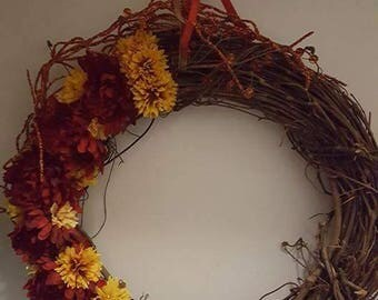 Fall Country Wreaths