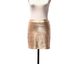 Disco Mini Skirt  / Bandage Skirt / MiniSkirt / Skirtorama / 80's Skirt