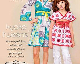 ModKid Kyoko Tweens Shirt and Dress Pattern