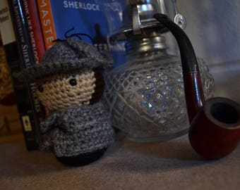Sherlock Holmes Doll