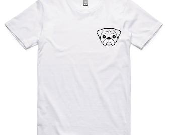 Pugs Not Rugs - Pug Dog T Shirt