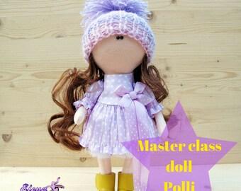 Pattern doll textile doll clothes Body PDF Sewing Pattern Rag Doll Pattern pdf Blank Rag PDF Doll Body Doll Form