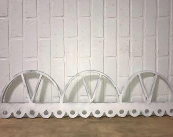 Architecture Scalloped Arch Accent Wooden Wall Art Decor