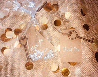 "Custom ""Thank You"" Favors"