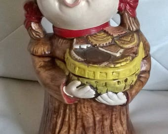 Vintage California Orginials Cookie Jar #872 USA