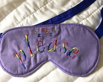 Rainbow Sleep Eye Mask