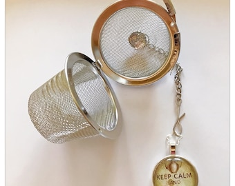 Keep Calm and Drink Tea Infuser