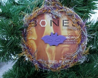 Bones Christmas Ornament Upcycled TV Show DVD #10