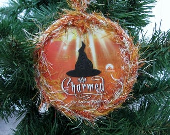 Charmed Christmas Ornament Upcycled TV Show DVD #5