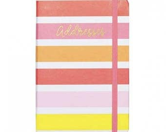 Small Address Book - Bright & Lively
