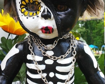 Baby skeleton Doll