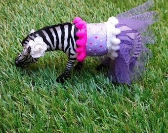 Zebra in a tutu