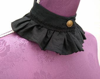 Ruffled Stand up Collar 2