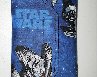 Star Wars Custom Handmade Cell Phone Pouch Case Holder with FREE SHIPPING