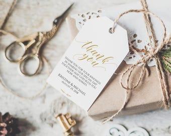 wedding favor tags