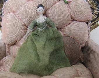 wooden dutch doll