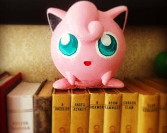 Jigglypuff Cute Desk Figure