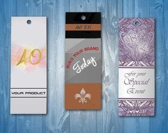 Custom Hang Tags, Crafts Hang Tags, Clothing Hang Tags, Party Hang Tags, Custom Clothing Labels,