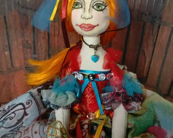 Handcrafted Boudoir Doll