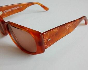 Vintage Alain Mikli A.M.82 309338 Sunglasses (Handmade in France)