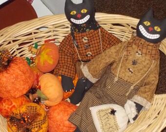 Halloween Cat Doll & Tricks Bag(2)
