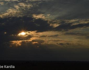 Rays Through Clouds In Uganda [Digital]