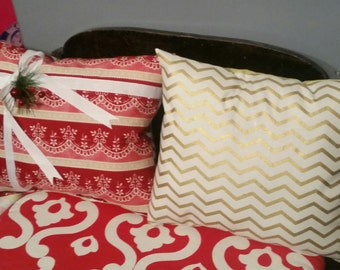 Christmas Package Pillow